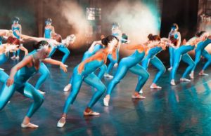 Our students performing at Sadler's Wells, London.